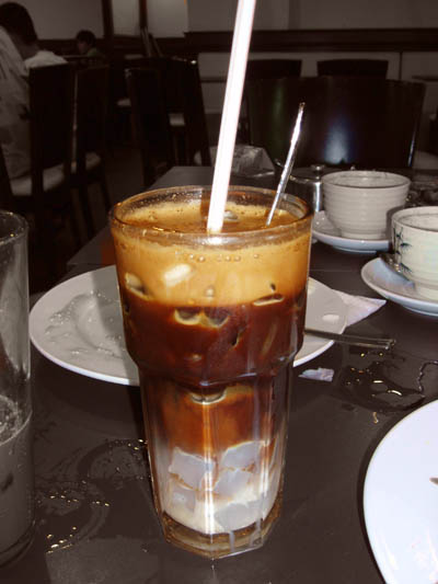 HongKong Style Coffee with NataDeCoco