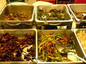 Dataran Maybank Vegetarian