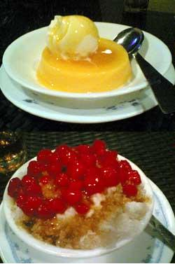 Mango Pudding, Water chestnut