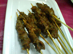 东北菜羊肉串 Dong bei cai - mutton satay with spices 2
