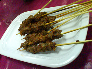 东北菜羊肉串 Dong bei cai - mutton satay with spices 1