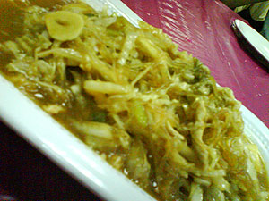 东北菜大白菜 Dong bei cai - Fermented bak choi with vermicelli 3